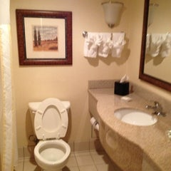 Photo taken at Hilton Garden Inn by Katie P. on 10/27/2012