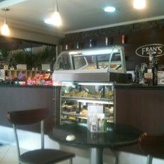 Photo taken at Fran's Café by Flavio M. on 3/15/2013