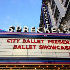 Photo taken at Spreckels Theatre by Bil B. on 8/2/2013