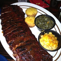 Photo taken at Dinosaur Bar-B-Que by Anne S. on 11/2/2012