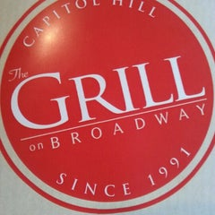 Photo taken at The Grill on Broadway by Rebecca S. on 1/19/2013