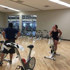 Photo taken at LA Fitness by Angelo F. on 6/18/2015