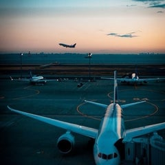 Photo taken at Аэропорт Пулково-2 / Pulkovo-2 Airport (LED) by Anna N. on 11/14/2013