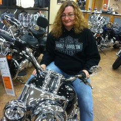Photo taken at Andrae's Harley Davidson by Kyle C. on 4/27/2013