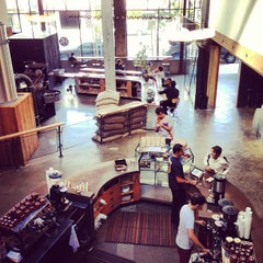 Photo taken at Sightglass Coffee by SocialSoundSystem on 7/19/2013