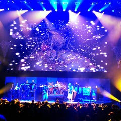 Photo taken at Gibson Amphitheatre by SocialSoundSystem on 12/9/2012