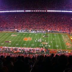 Photo taken at Memorial Stadium by Rebecca T. on 11/25/2012