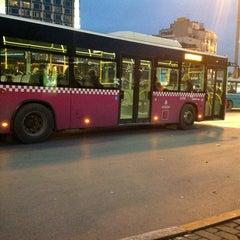 Photo taken at 110 Kadıköy - Taksim by Eren Y. on 12/18/2012
