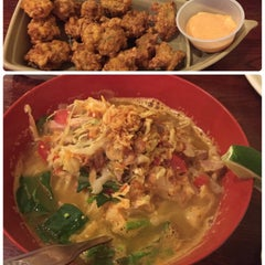 Photo taken at Lime Tree Southeast Asian Kitchen by Katie M. on 9/26/2015