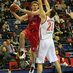 Photo taken at ПБК ЦСКА / PBC CSKA by Roumiantsev O. on 11/5/2012
