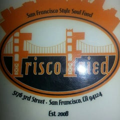 Photo taken at Frisco Fried by Jing P. on 5/1/2013
