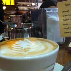 Photo taken at Journal Cafe by Soohee C. on 1/13/2013