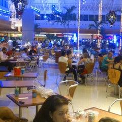 Photo taken at Praça de Alimentação by André C. on 12/5/2012