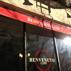 Photo taken at Benvenuto Cafe by AndresT5 on 1/18/2013