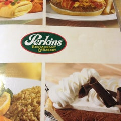 Photo taken at Perkins Restaurant & Bakery by Anna P. on 1/20/2013