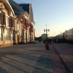 Photo taken at Железнодорожный вокзал Бийска by Дарья Д. on 6/27/2013