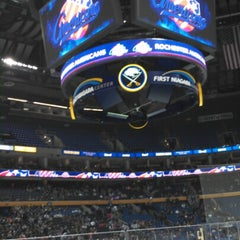 Photo taken at First Niagara Center by Valerie D. on 10/23/2012