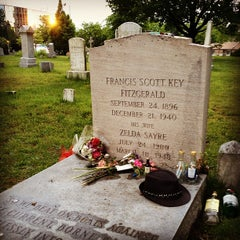 Photo taken at F. Scott Fitzgerald's Grave by Xuan V. on 5/30/2013