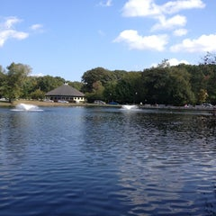 Photo taken at Slater Memorial Park by Claudia E. on 9/27/2012