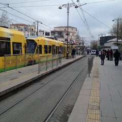 Photo taken at Beyazıt - Kapalıçarşı Tramvay Durağı by abram e. on 12/31/2012