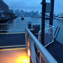 Photo taken at NY Waterway Ferry Terminal Liberty Harbor by Parker G. on 10/17/2012