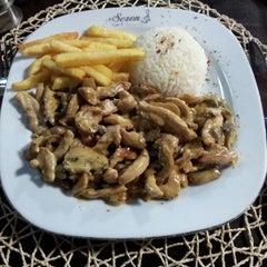 Photo taken at Sezon Cafe by Ömer T. on 12/17/2012