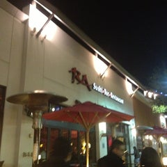 Photo taken at RA Sushi Bar Restaurant by Ricardo C. on 3/6/2013