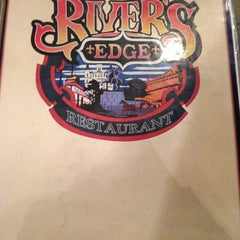 Photo taken at River's Edge Restaurant by Jennifer on 10/20/2012