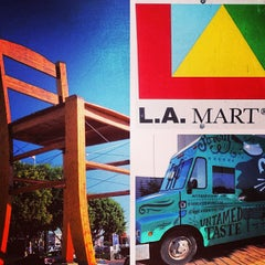 Photo taken at L.A. Mart by WickedKitchen on 6/27/2013