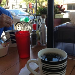 Photo taken at Janik's Cafe by Etienne P. on 9/4/2013