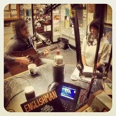 Photo taken at WRFL-FM Studios by Mick J. on 11/21/2013