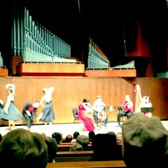 Photo taken at Paul Recital Hall at Juilliard by Samman on 1/19/2013