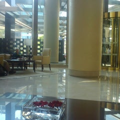 Photo taken at Trident Hotel - BKC by Prasanna R. on 2/21/2013