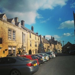 Photo taken at Stow-on-the-Wold by Romi R. on 4/18/2014