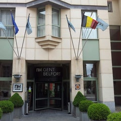 Photo taken at NH Gent Belfort by Geert H. on 6/22/2013
