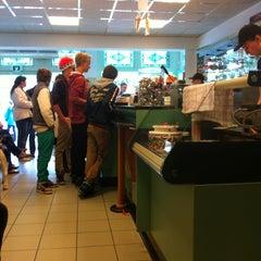 Photo taken at IJssalon Irene by Rudi. werkt als financieel klantcontactspecialist bij Capter Hilversum on 4/30/2013