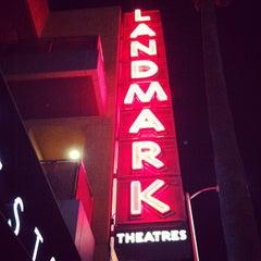 Photo taken at Landmark Theatres by gno m. on 10/6/2013