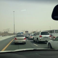 Photo taken at Sheikh Mohammed Bin Zayed Road شارع الشيخ محمد بن زايد by Dina A. on 6/29/2013