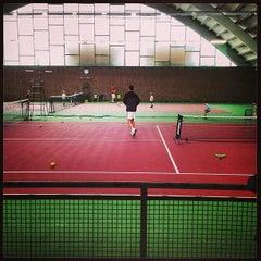 Photo taken at Kronprinsens Tennishall & Tenniscenter by Mike C. on 4/27/2013
