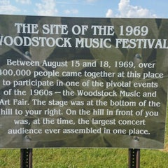 Photo taken at Woodstock original site by Marcus on 7/28/2015