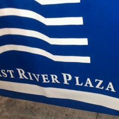 Photo taken at East River Plaza by Marcus on 10/27/2012