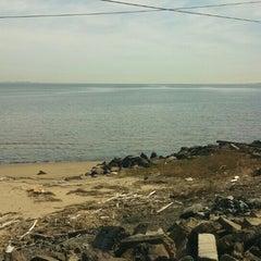 Photo taken at Raritan Bay Waterfront Park by Marcus on 4/6/2016
