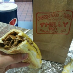 Photo taken at Philly Ted's Cheesesteaks & Subs by Dan R. on 10/28/2012