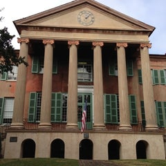 Photo taken at College of Charleston by Peter G. on 11/20/2012