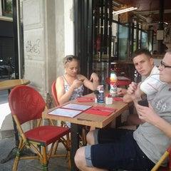 Photo taken at Café du Commerce by Sergei Z. on 7/22/2013