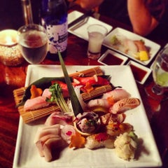 Photo taken at Nijo Sushi Bar & Grill by Noodle Y. on 5/10/2013
