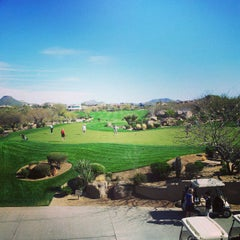 Photo taken at Troon North Golf Club by Dave G. on 3/6/2013