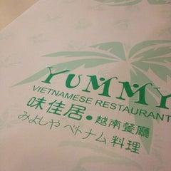 Photo taken at Yummy Vietnamese Restaurant  味佳居 by Kam K. on 11/7/2012