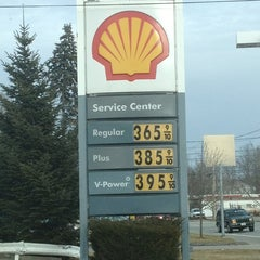 Photo taken at Shell by Lori F. on 2/2/2013