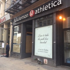 Photo taken at lululemon athletica by Korima Y. on 4/13/2015